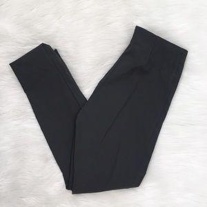 Athleta Grey Pull On Trouser Ankle Pants Petite